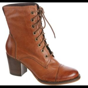 Nicole Heirloom Granny Leather Boot